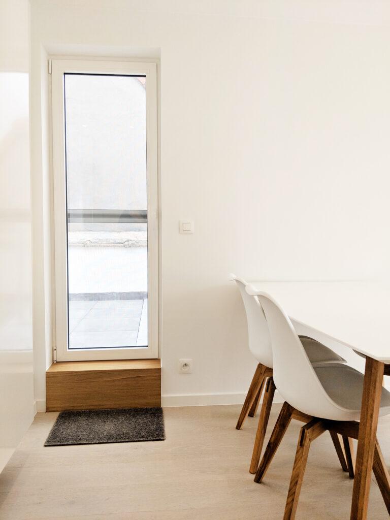 schilderwerken totaalrenovatie appartement