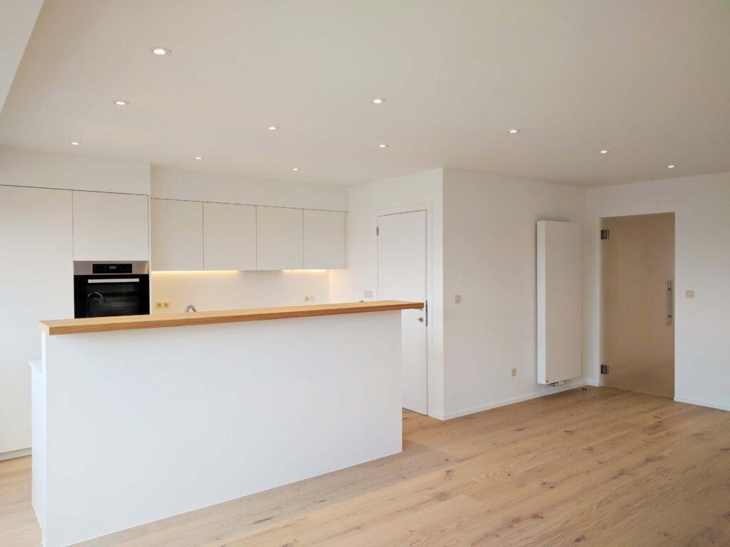 renovatie appartement maatwerk keuken totaalrenovatie